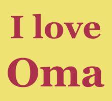 I love OMA Kids Tee