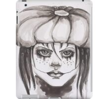 The Girl Who Laughs iPad Case/Skin
