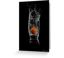 Apricot Drop Greeting Card