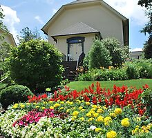 Highlands North Carolina Church  by Tracey Hampton