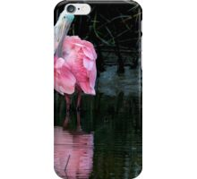 Spoonbill Pruning iPhone Case/Skin