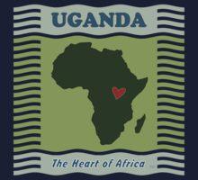 Uganda Heart of Africa One Piece - Long Sleeve