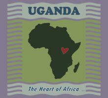 Uganda Heart of Africa Kids Tee