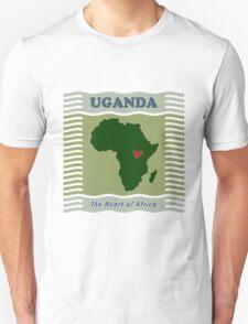 Uganda Heart of Africa T-Shirt