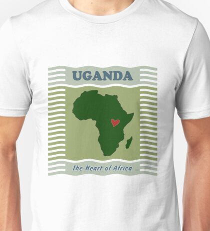 Uganda Heart of Africa Unisex T-Shirt