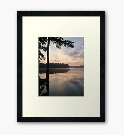 Sunbeams Framed Print