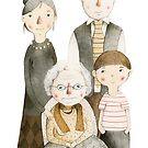 Family Portrait II by Judith Loske