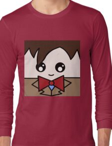 Dr Who 11th Doctor Squ'ed Long Sleeve T-Shirt