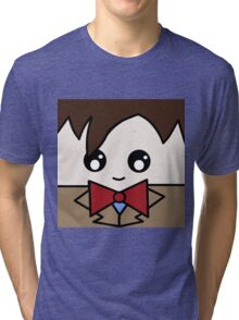 Dr Who 11th Doctor Squ'ed Tri-blend T-Shirt