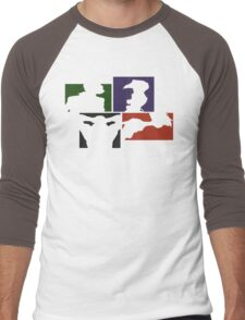 Cowboy Bebop Colored Panels Men's Baseball ¾ T-Shirt