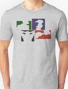 Cowboy Bebop Colored Panels T-Shirt