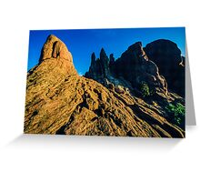 Twisted In Time Greeting Card