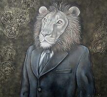 L'homme lion - The lion man by Caroline Houde