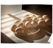 Eggs by the Window Poster