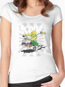 Toxie - I Heart The Monster Hero Women's Fitted Scoop T-Shirt