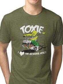 Toxie - I Heart The Monster Hero Tri-blend T-Shirt