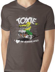 Toxie - I Heart The Monster Hero Mens V-Neck T-Shirt