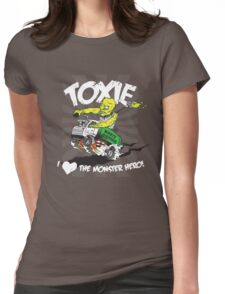 Toxie - I Heart The Monster Hero Womens Fitted T-Shirt