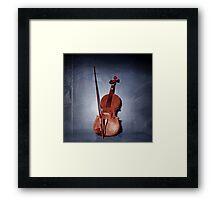 The Red Violin Framed Print