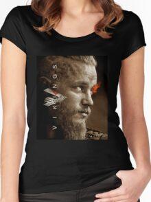 ragnar lothbrok Women's Fitted Scoop T-Shirt