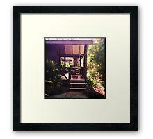 Deck Framed Print