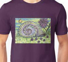 Snail Shell and Flower Unisex T-Shirt