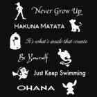Disney lessons learned (White) by ashleykathrine