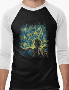 Angels, They're Falling (Supernatural) Men's Baseball ¾ T-Shirt