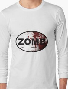 OutRunning Zombies Long Sleeve T-Shirt