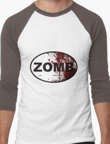 OutRunning Zombies Men's Baseball ¾ T-Shirt