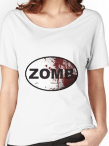 OutRunning Zombies Women's Relaxed Fit T-Shirt