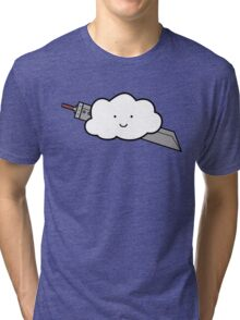 Cloud Fantasy Tri-blend T-Shirt