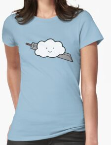 Cloud Fantasy Womens Fitted T-Shirt