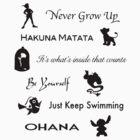Disney lessons learned (Black) by ashleykathrine