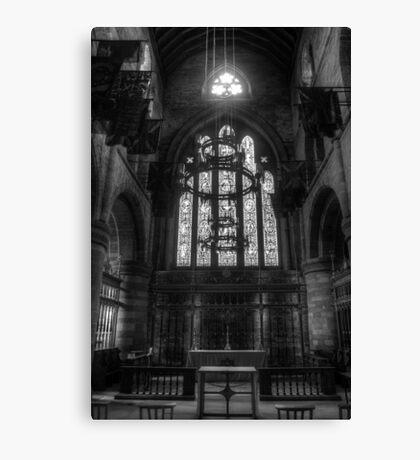 Carlisle Cathedral B&W Canvas Print