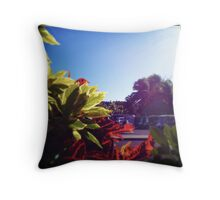 Leaving Hammo Throw Pillow