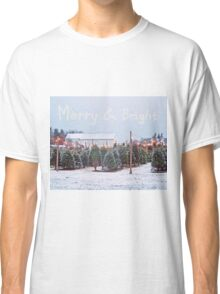 Christmas Trees for Sale Classic T-Shirt