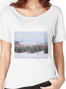 Christmas Trees for Sale Women's Relaxed Fit T-Shirt