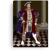 Political Correctness: the Dark Appeasement of Henri VIII Canvas Print