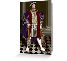 Political Correctness: the Dark Appeasement of Henri VIII Greeting Card