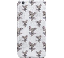 chihuahua - vintage blue iPhone Case/Skin