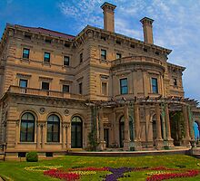 USA. Rhode Island. Newport. The Breakers mansion. by vadim19