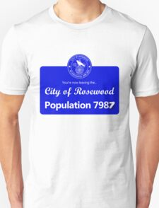 Welcome to Rosewood (Pretty Little Liars) Unisex T-Shirt