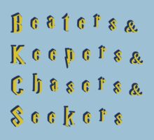 Beaters & Keepers & Chasers & Seekers Kids Clothes