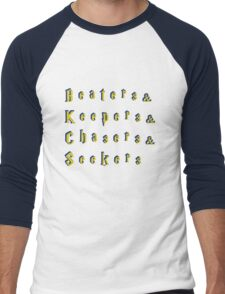 Beaters & Keepers & Chasers & Seekers Men's Baseball ¾ T-Shirt