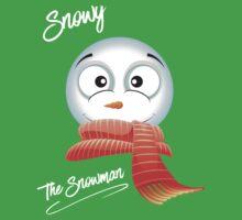 Snowy The Snowman Baby Tee
