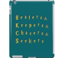 Beaters & Keepers & Chasers & Seekers iPad Case/Skin