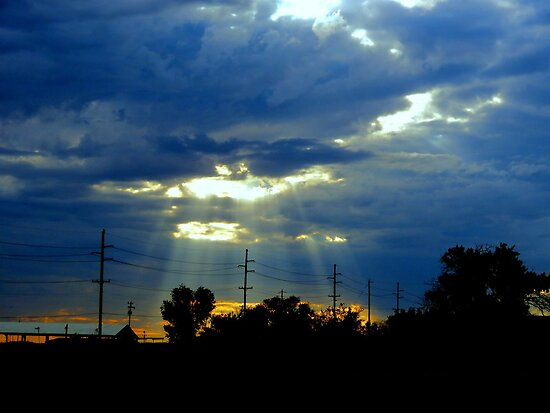 Close Encounters...Sunrise 7-27-2013..Idaho by trueblvr
