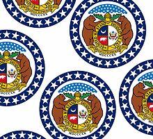 Smarthone Case - State Flag of Missouri - Horizontal IV by Mark Podger