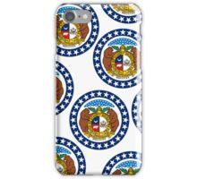 Smarthone Case - State Flag of Missouri - Horizontal IV iPhone Case/Skin